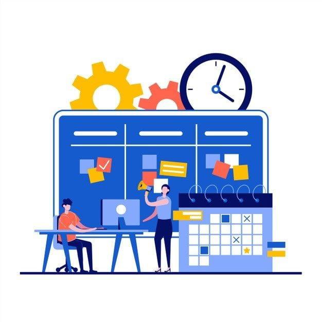 workflow management concept with businessman character 269730 337 - Маркетинг, который ставить цели 