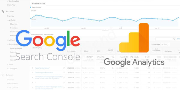 google analitics console - Создание, разработка и продвижение сайтов в Уральске